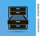 drawer | Shutterstock .eps vector #343639868