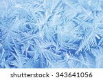 blue frost   Shutterstock . vector #343641056