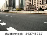 the road in the city | Shutterstock . vector #343745732