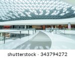 empty hallway and abstract... | Shutterstock . vector #343794272