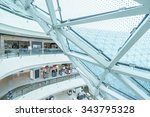part of glass architecture and... | Shutterstock . vector #343795328