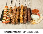 Set Shashlik. Kebab Skewer ...