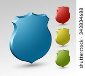 protection shield concept.... | Shutterstock .eps vector #343834688