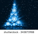 best christmas tree | Shutterstock . vector #343873988