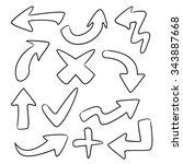 arrows | Shutterstock .eps vector #343887668