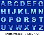 ice letters   Shutterstock . vector #34389772