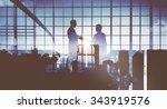 business people meeting...   Shutterstock . vector #343919576