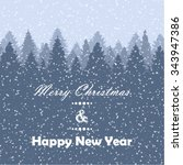 winter background | Shutterstock .eps vector #343947386