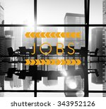 jobs employment career... | Shutterstock . vector #343952126