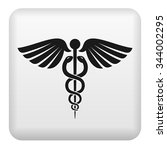 caduceus medical icon | Shutterstock .eps vector #344002295