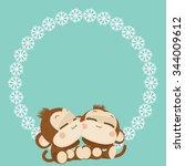 Cute Lovely Monkey Couple....