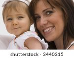 mother and daughter | Shutterstock . vector #3440315