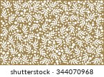 christmas new year pattern... | Shutterstock .eps vector #344070968