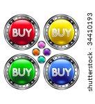 buy e commerce icon on round...