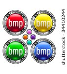 on round colorful vector...   Shutterstock .eps vector #34410244