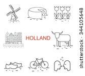 Vector  Line Holland Icon....