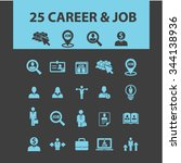 career development  icons ... | Shutterstock .eps vector #344138936