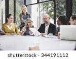 Business People Meeting...