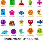 cartoon vector illustration of... | Shutterstock .eps vector #344278706