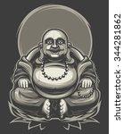 buddha | Shutterstock .eps vector #344281862