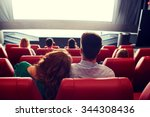 cinema  entertainment  leisure... | Shutterstock . vector #344308436