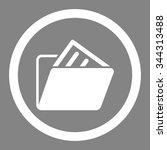 document folder vector icon....   Shutterstock .eps vector #344313488