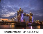 Tower Bridge In London   Wide...