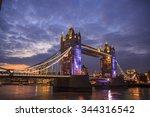 Tower Bridge In London   Wide...