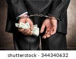 white collar crime.   Shutterstock . vector #344340632