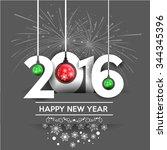 Happy New Year 2016 Design....