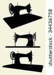 Singer Sewing Machine Vector 01