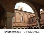 ferrara renaissance palaces | Shutterstock . vector #344370968