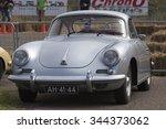 Постер, плакат: Parked grey Porsche