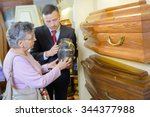 coffin shop | Shutterstock . vector #344377988
