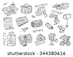 Newspaper Vector Icons....