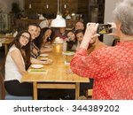 Granny Taking A Picture Of All...