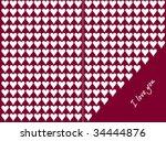 valentine background. hearts | Shutterstock .eps vector #34444876