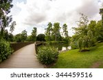 view from kew gardens  royal... | Shutterstock . vector #344459516