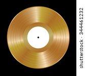 gold vinyl vector illustration. | Shutterstock .eps vector #344461232