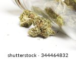 legal marijuana and cannabis... | Shutterstock . vector #344464832