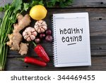 healthy eating  health... | Shutterstock . vector #344469455