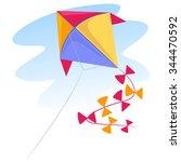 vector illustration of a... | Shutterstock .eps vector #344470592