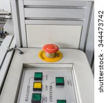 emergency button equipment used ...   Shutterstock . vector #344473742