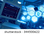 cardiomonitoring of patient in... | Shutterstock . vector #344500622