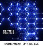 modern blue geometrical...   Shutterstock .eps vector #344503166