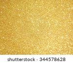 yellow glitter paper texture | Shutterstock . vector #344578628