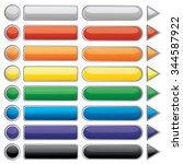 vector illustration of glowing... | Shutterstock .eps vector #344587922