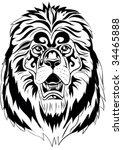 lion | Shutterstock .eps vector #34465888