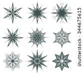 Snowflake Ice Star