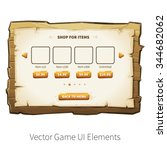 in app purchase screen. vector...
